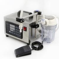 110 220V Digital Control Liquid Quantitative Liquor Filling Machine With Power Off Memory Function And Anti