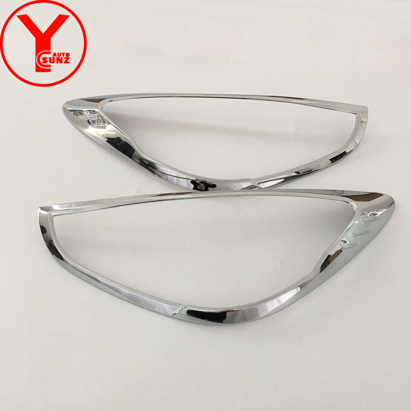 chrome head light cover For mazda 2 Demio 2015 2016 2017 ABS car styling headlight part auto accessories For mazda 2 2017 YCSUNZchrome head light cover For mazda 2 Demio 2015 2016 2017 ABS car styling headlight part auto accessories For mazda 2 2017 YCSUNZ