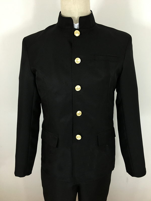 Japanese Men And Women Of Uniform, And The Chinese Tunic Suit Black High School -7260