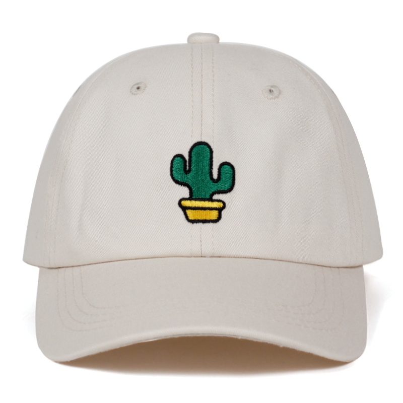High Quality Cotton% Prickly embroidery dad hat For Men Women Hip Hop Snapback Caps Dad cap Baseball Cap Bone Garros 5