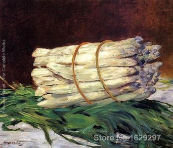 Paintings for living room wall A Bunch Of Asparagus Edouard Manet High quality Hand painted