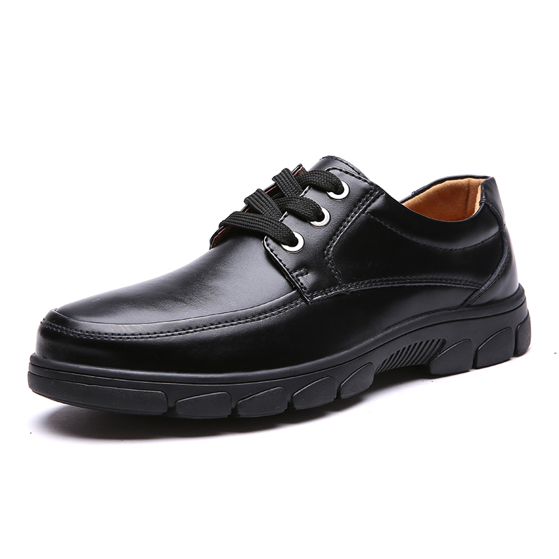 Men's Shoes  Oxfords Casual Business Leather Shoes Fashion Outdoors flat Genuine Leather High Quality Black Brown Size 38-44 сумка hidesign business fleming 03 fleming 03 brown