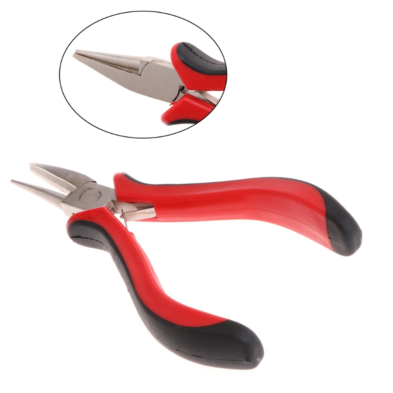 Jewelry Pliers Repair Wire Bead Cutting Stainless Alloy One Side Round Needle Craft Tools