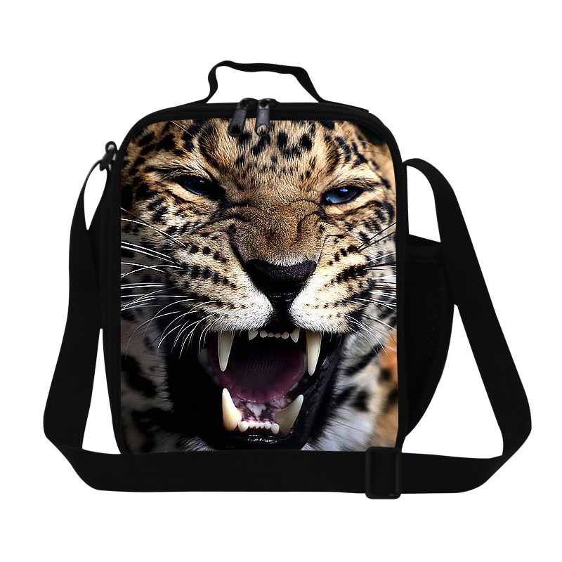 38393d2459ea Personalized leopard lunch bags food bags pattern for teens boys ...
