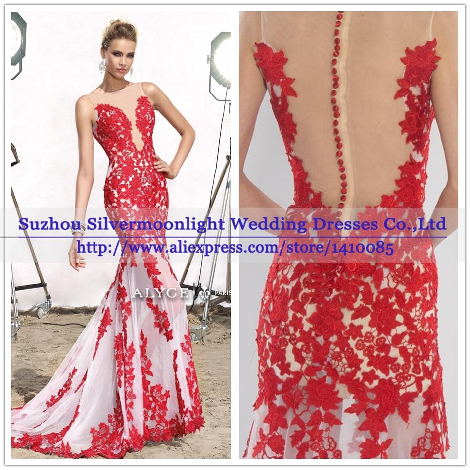 Lujoso Elegantes Vestidos De Fiesta Rojos Ilustración - Colección de ...