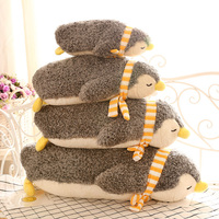 1Pcs 35 50cm Cute Penguin Stuffed And Plush Toys Super Comfortable Soft Doll Bolster For Children