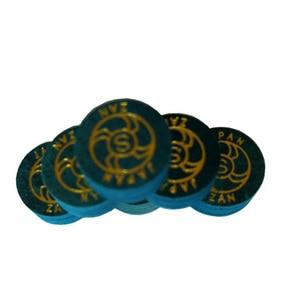 Image 3 - Xmlivet miễn phí vận chuyển 10 cái ZAN 14 MÉT màu xanh chuyên nghiệp billiards Pool cue mẹo S/M/H 8 lớp da billiard cung cấp Trung Quốc