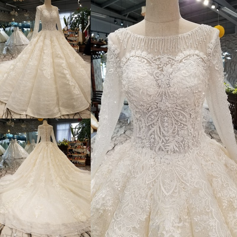 Vintage Wedding Dresses Boston: Backlakegirls 2019 Hot Vintage Embroidery Flowers A Line