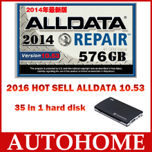 Auto repair software alldata mitchell on demand alldata 10.53 +ELSA 4.1 etc 35 in1 WD/TOSHIBA/HGST/ Seagate randomly sent(China (Mainland))