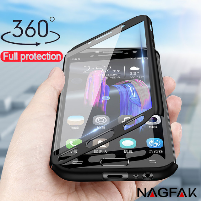 360 Full Cover Phone Case For Samsung Galaxy J5 J7 A3 A5 2016 A6 A8 2018 Case For Samsung A5 A7 2017 Protective Shell Case Cover