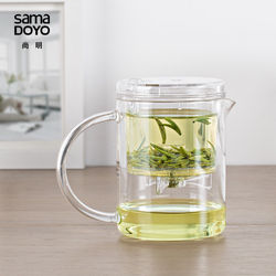 Sama DOYO SAMA EC-21 גבוהה כיתה קונג פו קומקום & ספל 350 ml SAMA קומקום Samadoyo תה חום עמיד זכוכית קומקום