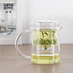 Sama DOYO SAMA EC-21 High Grade Kung Fu Teapot & Mug 350ml SAMA Teapot Samadoyo Tea Pot Heat Resistant Glass Teapot