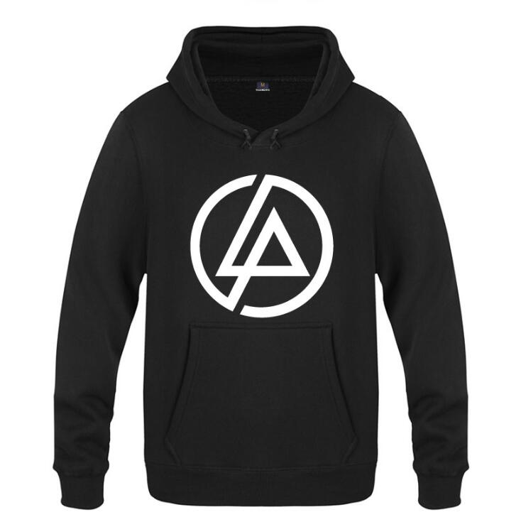 mens hoodies rock linkin park logo hoodie men hip hop. Black Bedroom Furniture Sets. Home Design Ideas