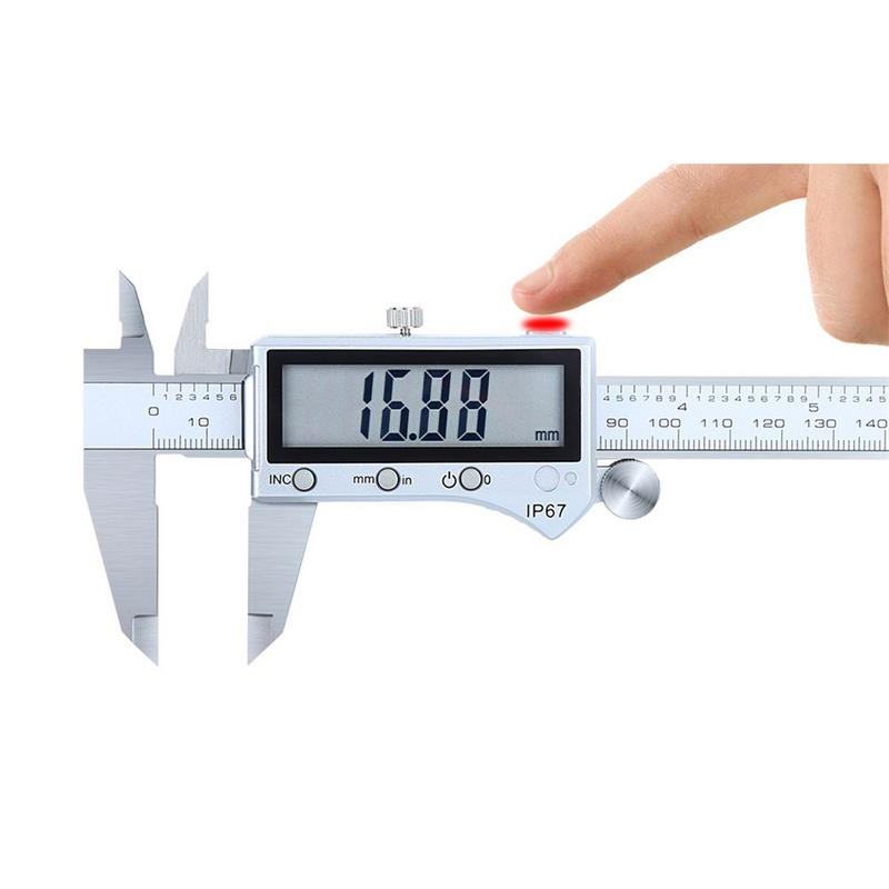 High Type IP67 Bluetooth Waterproof Digital Accurate Vernier Caliper Digital Stainless Steel Vernier Caliper 0-150mm vernier caliper 150mm high precision fine analysis wear