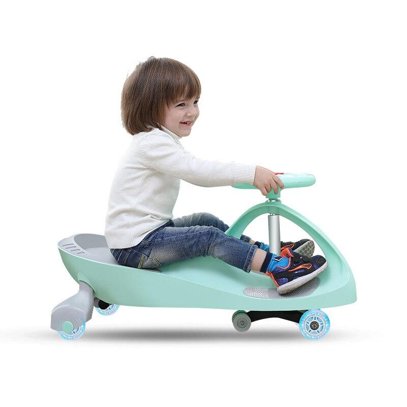 Enfants torsion voiture 1-8 ans silencieux bébé taxi enfants torsion voiture balançoire