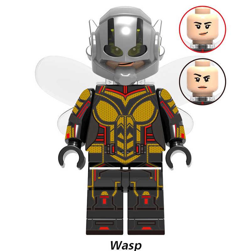 أعجوبة المنتقمون Endgame الحديد رجل Shuri القرمزي ساحرة دبور الفلفل الكابتن أمريكا أرقام لعب متوافق مع ليغو X0263