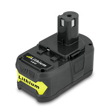 Cncool 18V 4000mAh Tool Battery For Ryobi P108 RB18L40 Lithium Ion Rechargeable Battery Pack Power Tools Battery Ryobi ONE + цены