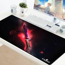 CS GO коврик для мыши нож Counter Strike Нескользящая клавиатура Коврик для мыши CSGO коврик для мыши для игр для ПК клавиатура и мышь для компьютера игровой