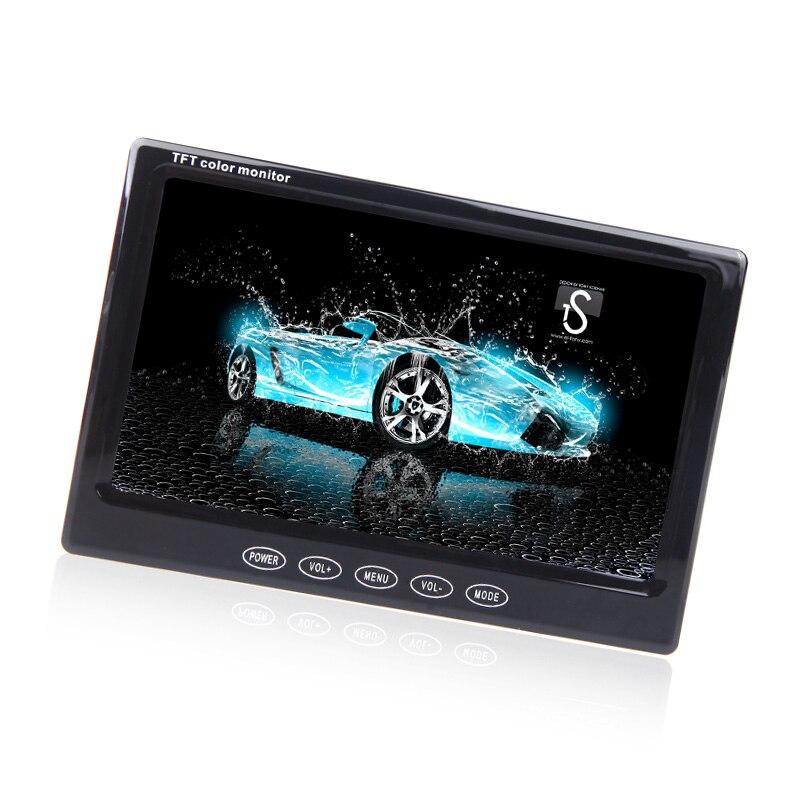 KKmoon 7 Pouce Moniteur De Voiture TFT LCD 7 HD Numérique 16:9 480*234 Écran pour N ° Vue Arrière Caméra DVD VCD DVD de Voiture Écran