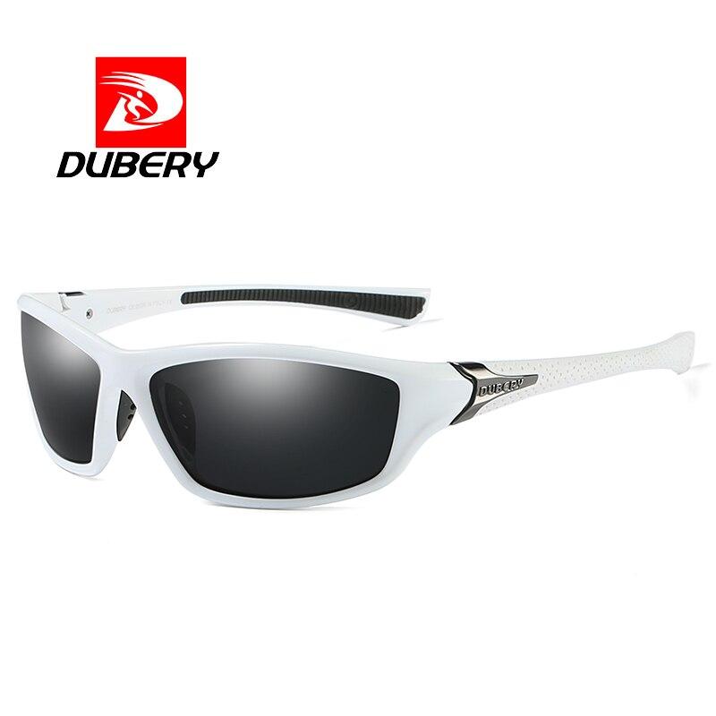 DUBERY Polarisées Pilote Lunettes de Soleil Pour Hommes Concepteur de Marque de lunettes de Soleil Hommes Femmes Conduite UV400 Lunettes Shades Oculos De Sol