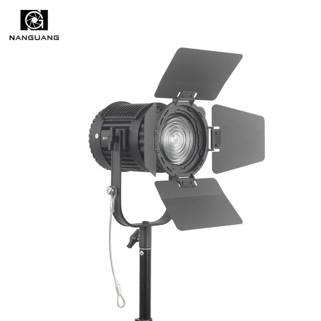 CN-60F 60W 5600K LED Fresnel Light Focusing and Dimming LED Studio Light + Colored Filter+Light Bag LED Video Studio Light