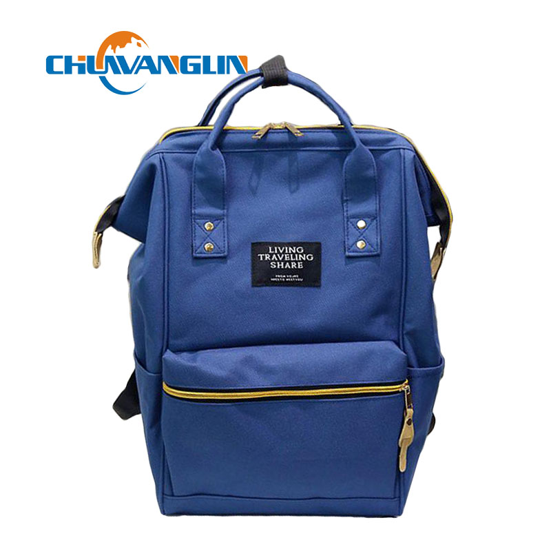 Chuwanglin Girls Backpack Women School Bag Candy Color Students Backpacks Casual Laptop Bag Teenage Satchel Bags Mochila Lyz7042
