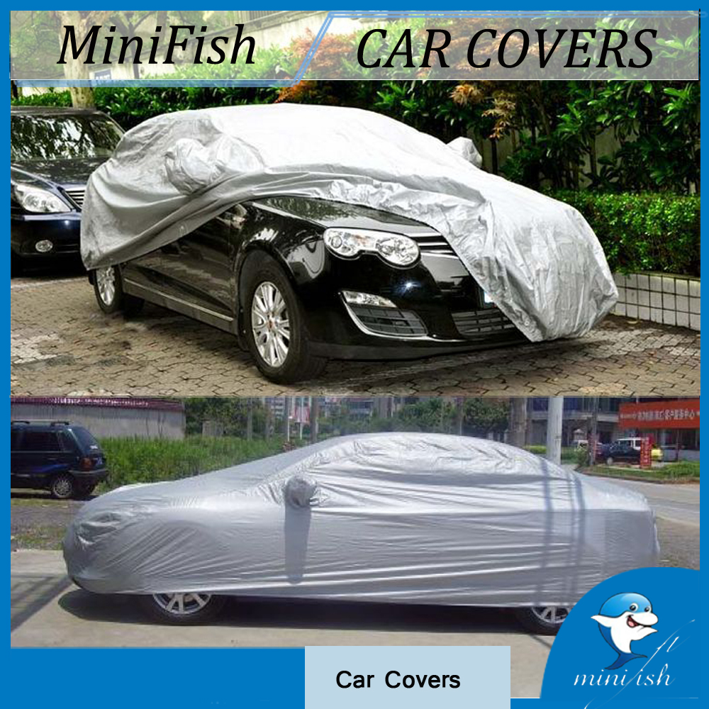 High Quality Car Accessories Car Covers Indoor Outdoor Waterproof Sun UV Snow Dust Resistant Protection Size S M L XL Car Covers