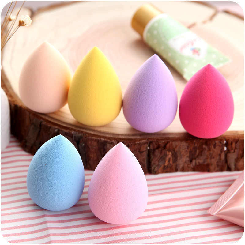 Good Quality Makeup Foundation Sponge Makeup Cosmetic puff Powder Smooth Beauty Cosmetic make up sponge Random Color