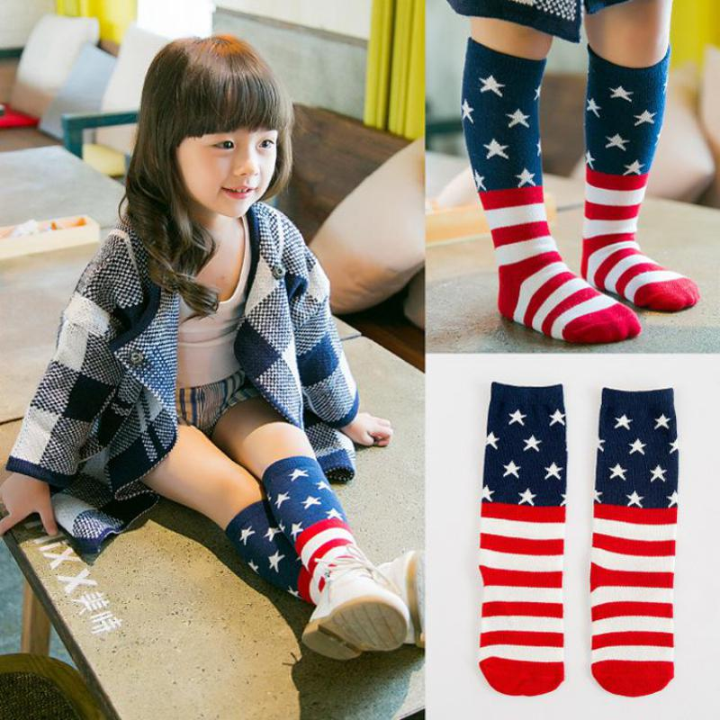 Baby Socks Boys Girls Newborn Toddler Knee High Warm
