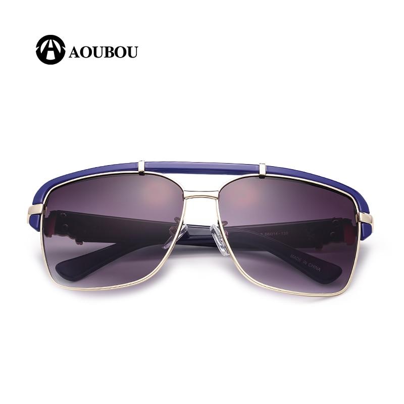 AOUBOU Brand Design Classic Logo Solbriller Mænd UV400 Drivende - Beklædningstilbehør - Foto 3