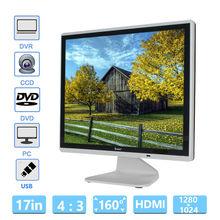 "Eyoyo 17 ""HD LCD 1024*768 Монитор VGA BNC Аудио-Видео HDMI Для ПК ВИДЕОНАБЛЮДЕНИЯ Банковского Камеры"