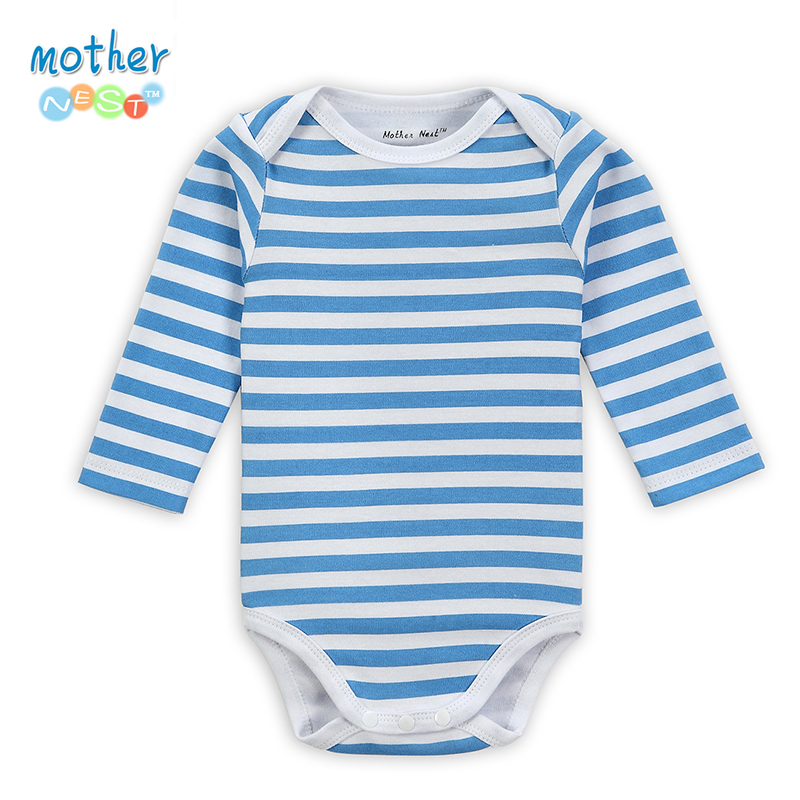 2018 Autumn 100% Cotton Baby Boy Clothes Girl Baby   Romper   Baby Winter Clothes One Piece Jumpsuit Underwear Baby Clothing