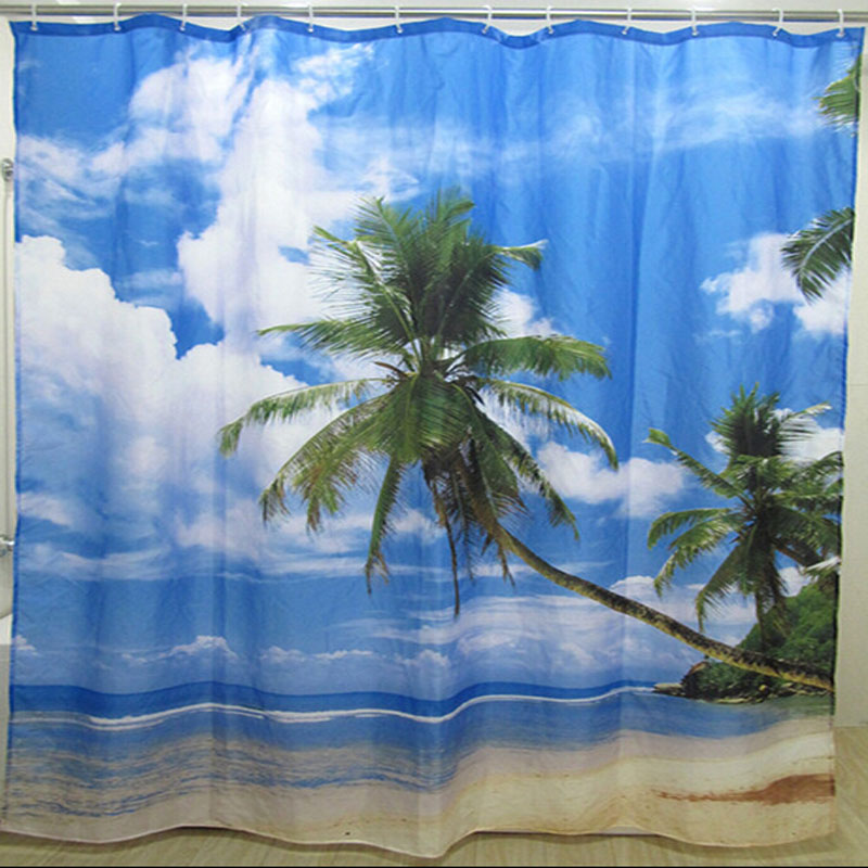 Online Get Cheap Tropical Shower Curtains Alibaba Group