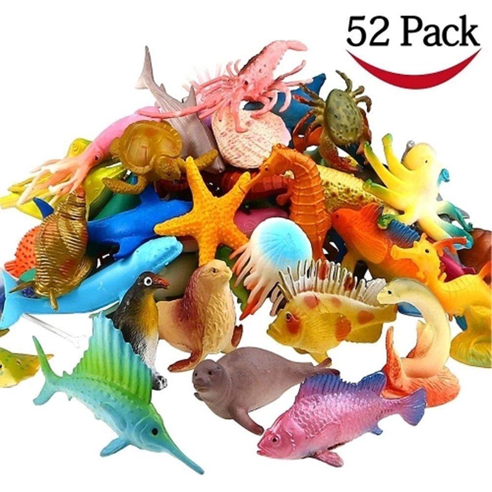 Ocean Sea Animal Assorted Mini Vinyl Plastic Animal Toy Set Ocean Sea Animal Assorted Mini Vinyl Plastic Animal Toy Set
