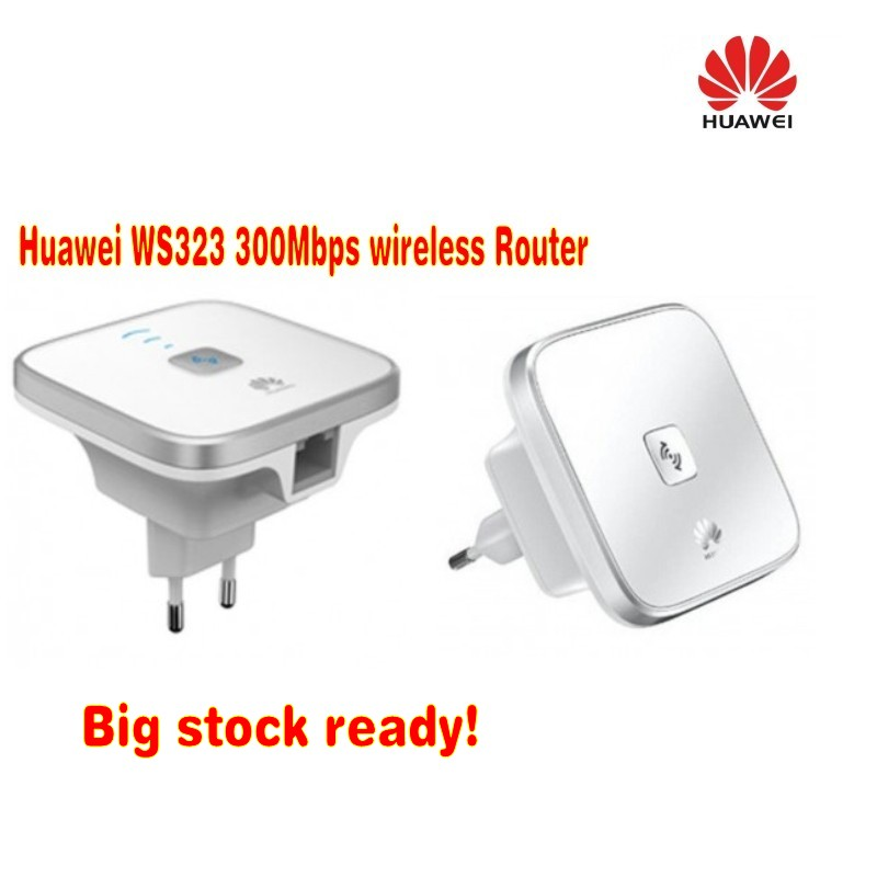 Lot of 2pcs Huawei Extender 2.4/5 GHz Dual Bands WiFi Repeater Wireless Router WS323