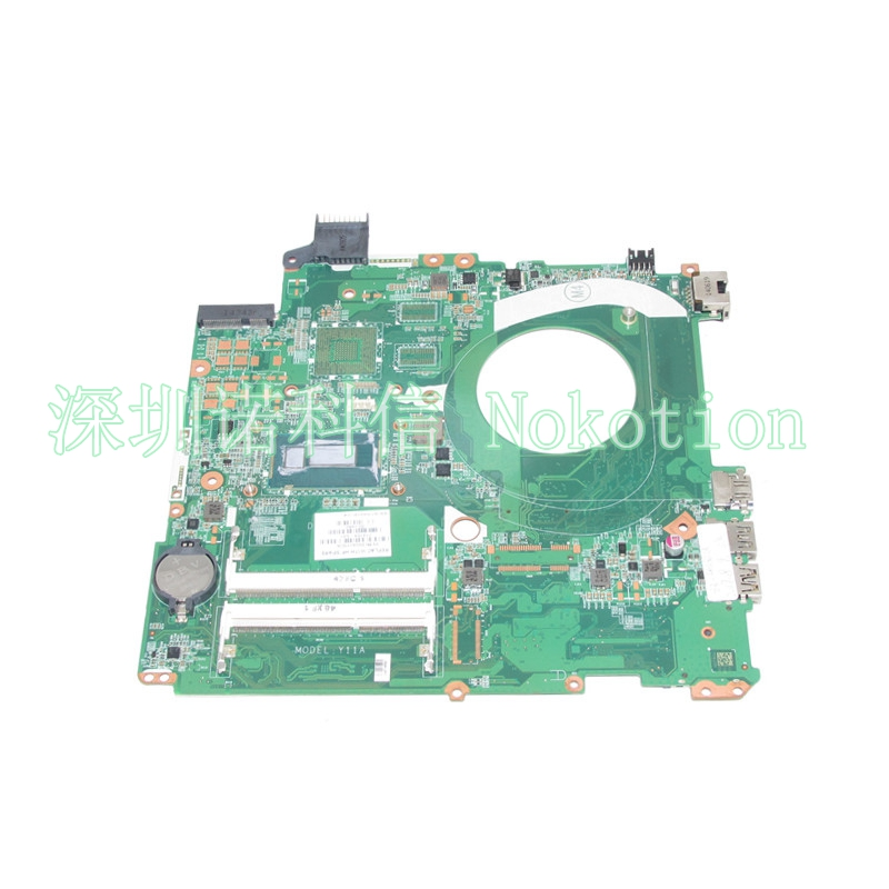 NOKOTION  774768-001 774768-501 Laptop Mainboard For Hp Pavilion 15-P Series Motherboard SR1EN I3-4030U DAY11AMB6E0 WORKS laptop palmrest for acer as5940 5940g 5942 5942g 60 pfq02 001 ap09z000400