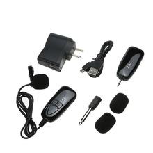 2.4G Speech Presentation Wireless Mic Signal Transmitter Receiver Microphone for teacher conference tour guide microfone