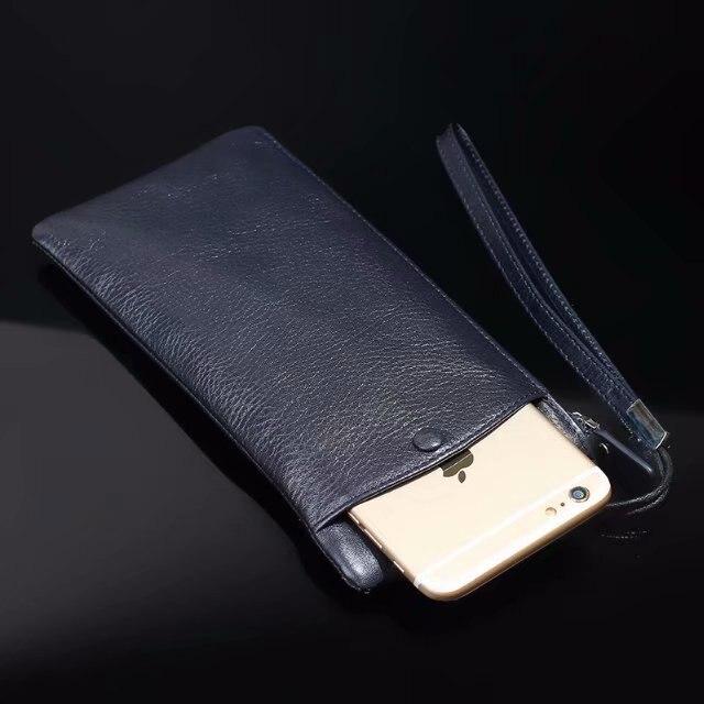 Pochette en cuir de vachette véritable pour téléphone portable pour Lenovo K320t/Z5/S5/K5/K5 Play/K8 Plus/K8 Note/P2/K6 Note/A7000