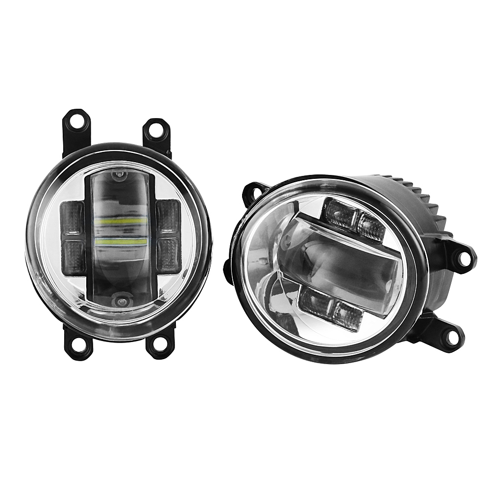 40W Pair Of LED Fog Light Left Right RH LH Side For Toyota Camry Yaris Lexus