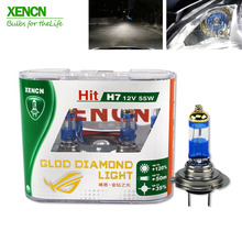 XENCN H7 12V 55W 4300K Gold Diamond Replacement for  Bulbs Car Headlight Halogen Auto lamp Free Shipping