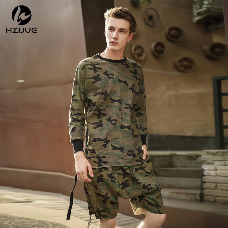 a98d107d342aa HZIJUE 2018 hiphop justin bieber clothes street wear kpop urban clothing  men long sleeve longline t shirt swag clothe camouflage-in T-Shirts from  Men's ...