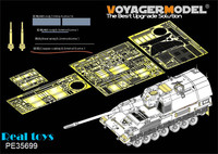 Voyager MODEL 1/35 PE35699 Modern German PzH2000 SPH basic(atenna base include) (For MENG TS 012)