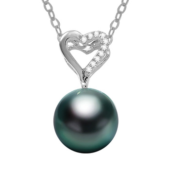 14K Gold Pendant with Saltwater Pearl 4