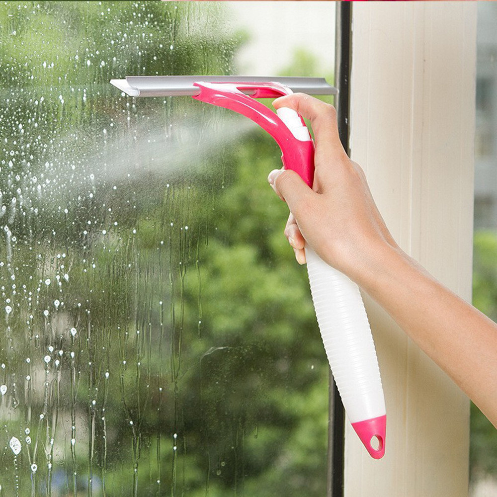 Window Glass cleaning brushes Cleaner Wiper Multifunctional Spray Water Glass Scratch Car Glazing Door Floor Wash Cleaner 2018