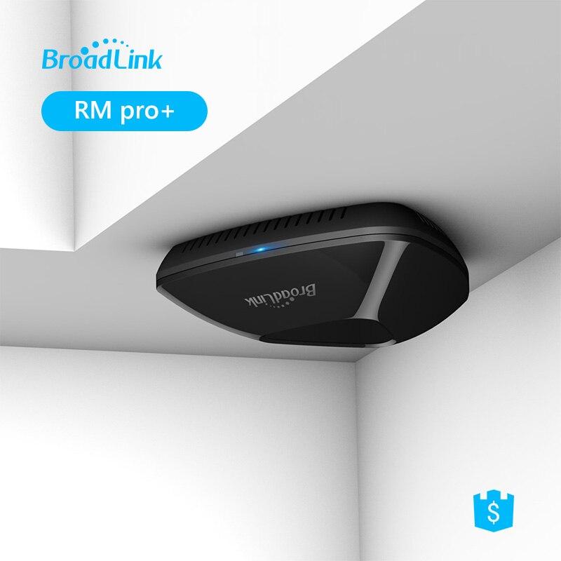 Оригинальный Broadlink RM2 RM Pro интеллектуальный Универсальный пульт дистанционного управления смарт-домашней автоматизации Wi-Fi + IR + рф через IOS ...