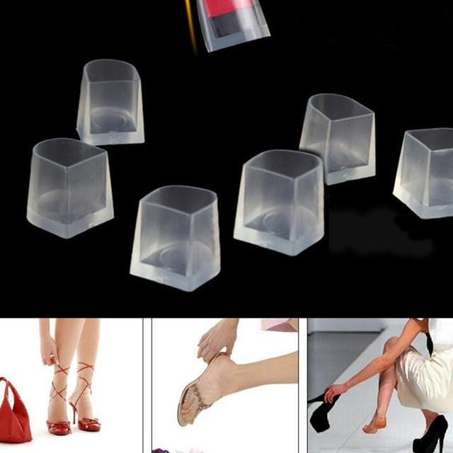 824e924e252 1 Pair New Clear Heel Protectors High Heeler Anti Slip Silicone Latin  Stiletto Shoes Protective Cover Foot Care Tool Feet Care-in Foot Care Tool  from Beauty ...