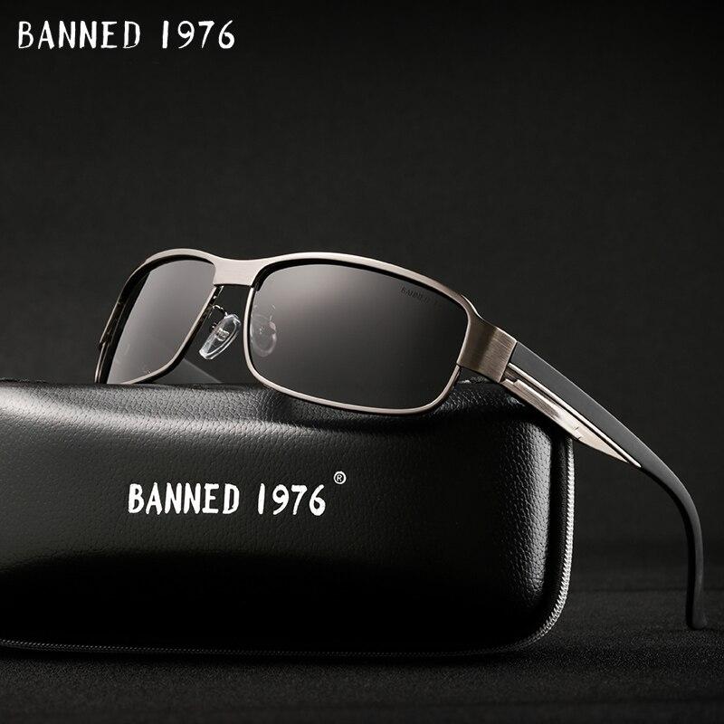 2018 marca diseñador HD polarizadas Oculos de los hombres de la moda gafas de sol de las mujeres UV400 protección gafas de sol hombre para conducir con caja
