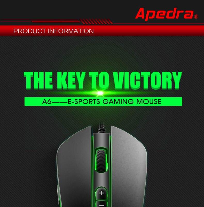 chuôt -game-Esports-Apedra A6
