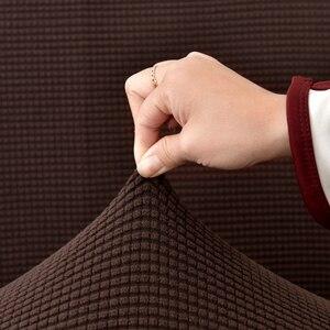Image 3 - Cực trang Ghế Sofa Dày Đa Năng Co Giãn Bọc hạt Ngô Họa Tiết Ghế Dài Bao Da Nội Thất Có 1/2/3/4 chỗ ngồi ghế sofa