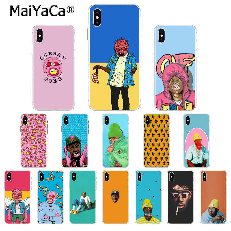 MaiYaCa tyler die creator Pop Rap Sänger tyler creator Fundas Telefon Fall für Apple iphone 11 pro 8 7 66S plus X XS MAX 5S SE XR